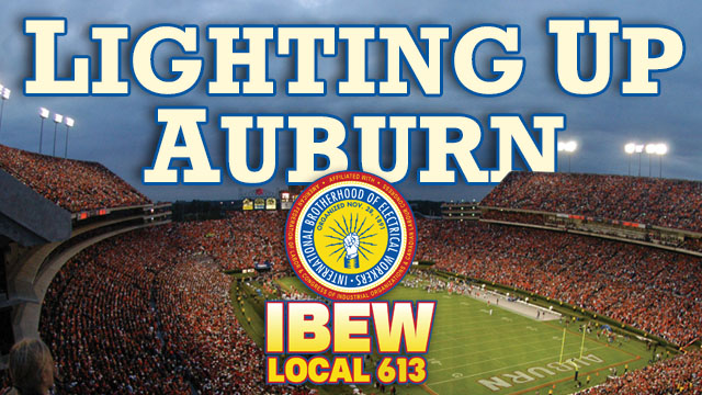 Auburn Football Digital Ad