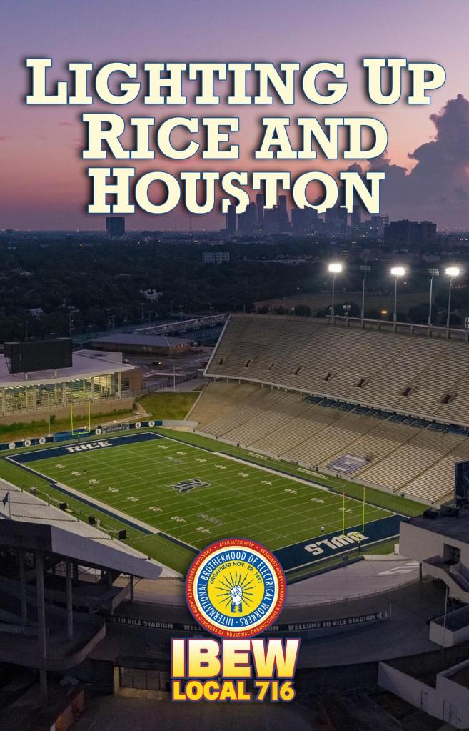 Rice Stadium Digital Ad